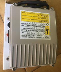 tụ điện bảo vệ và khởi động cho bơm hỏa tiễn 1 pha