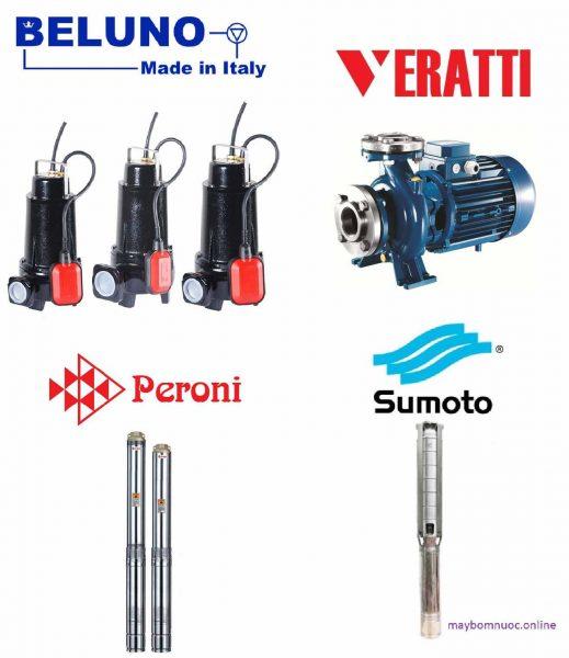 máy bơm nước nhập khẩu italia