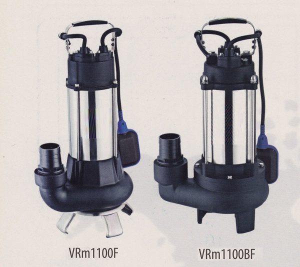 Bơm chìm nước thải Veratti Model VRm1100F 1100BF