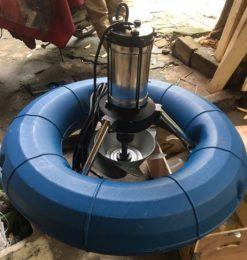 máy sục khí chìm veratti