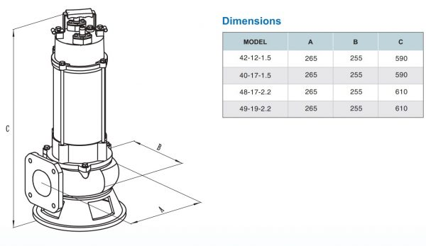 Chi tiết kích thước sản phẩm