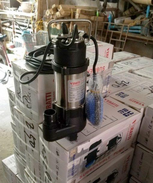 Bơm chìm nước thải Verattti Model VRm250F